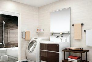 脱衣室やトイレなどの水回りに大人気